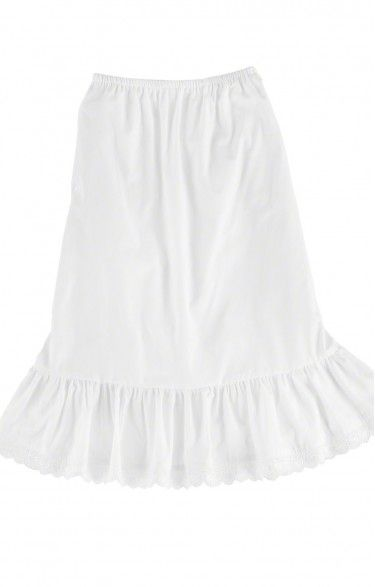 German traditional short underskirt U15 white