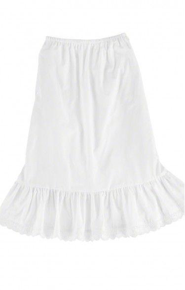 German traditional short underskirt U15 white