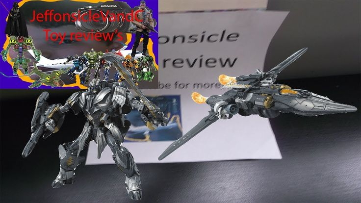 Transformers the last knight leader class Megatron toy review