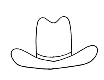 17 best images about kids wild west activities on for Small cowboy hats for crafts