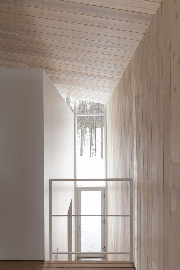 Wohnhaus mit Aussicht: La Maison Haute in Kanada   Wohnhaus ...