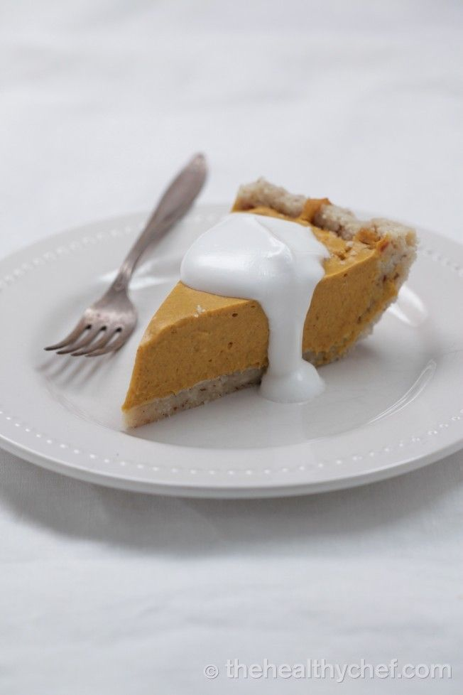 Pumpkin Pie With Macadamia + Coconut Shortcrust : The Healthy Chef – Teresa Cutter