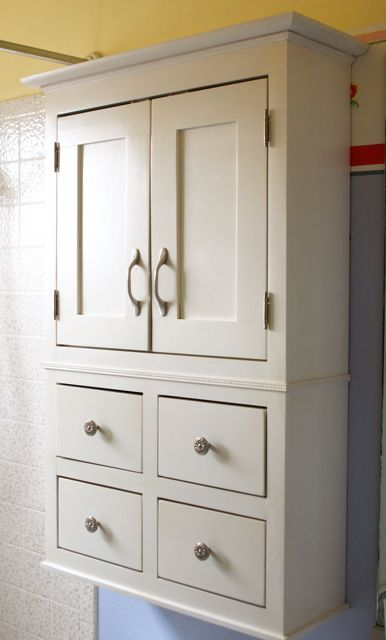 A bathroom cabinet for all that stuff! | Do It Yourself Home Projects from Ana White