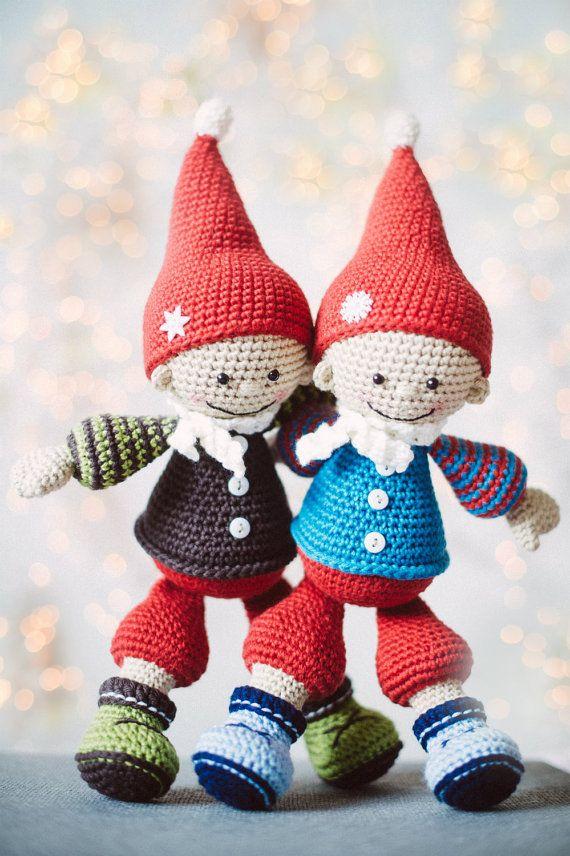25 besten häkeln Weihnachten Bilder auf Pinterest | Häkelpuppen ...