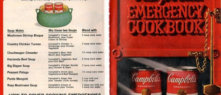 Campbell's makes meals-for-pennies pay off in flavor - Recipes include Pot roast, frankfurter boats, Campbelled eggs, Skillet meatloaf, Spanish rice, Macaroni & cheese, Tuna supreme, Chicken crunch