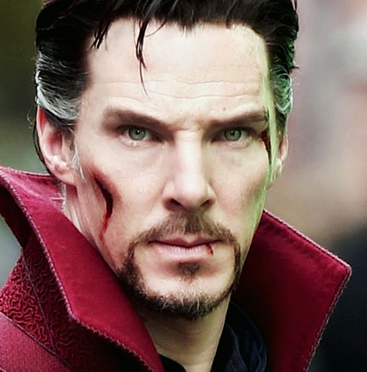 I can't imagine anyone else playing Dr. Strange now. He is perfect.