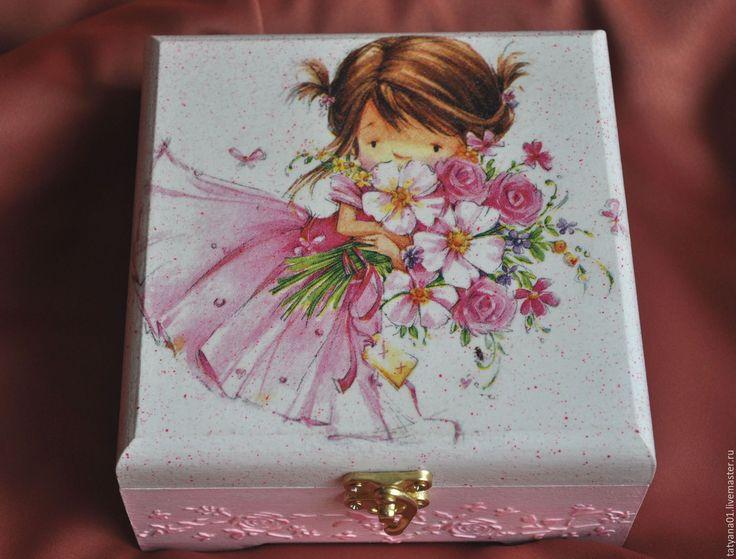 Купить Шкатулка для маленькой принцессы - подарок, подарок девушке, подарок девочке, шкатулка для девочки, принцесса
