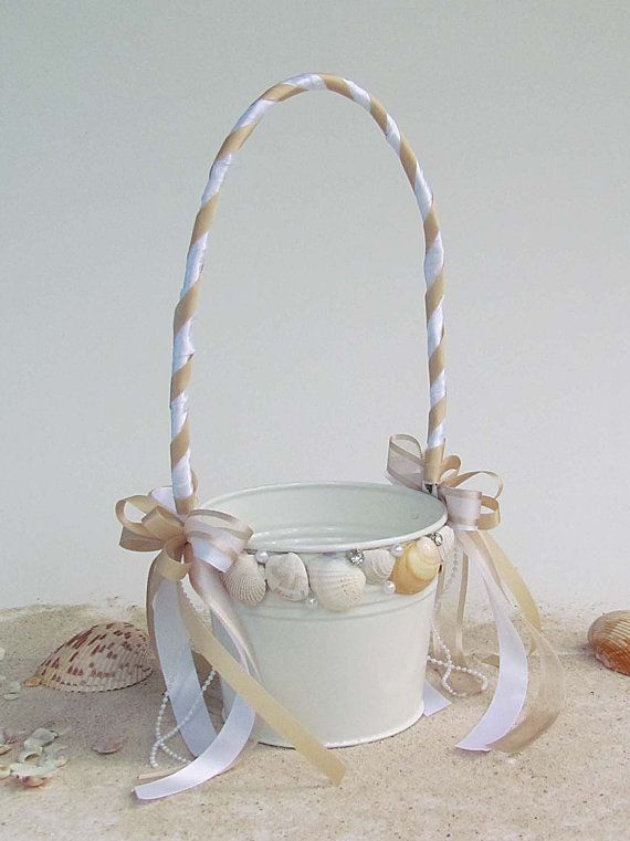 beach wedding flower girl basket 15 best images about baskets on starfish 1584