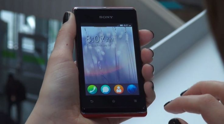Experimental Firefox OS software available for Sony Xperia E | technicues