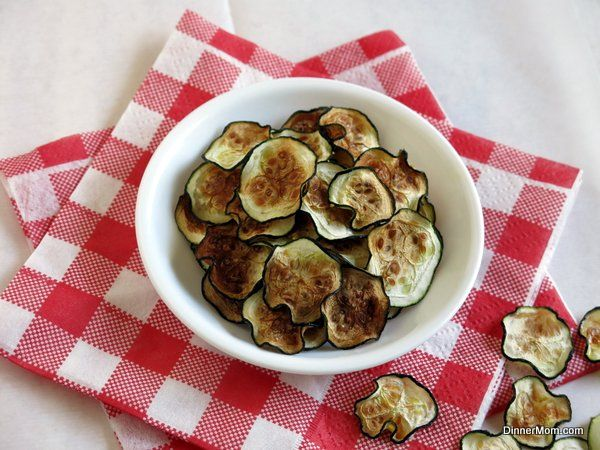 Zucchini Chips in the Microwave or Oven - The Dinner-Mom