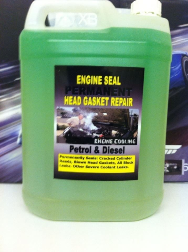 ENGINE BLOCK SEAL,REPAIR BLOWN HEAD GASKET&CRACKED ENGINE BLOCKS,,5 Litter #EngineSeal5Litter