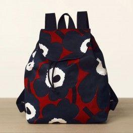 Erika Unikko - Marimekko fabric bags with pattern