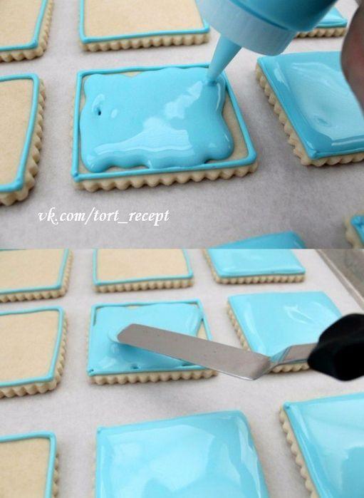 Универсальная глазурь для печенья - секреты профессионального кондитера