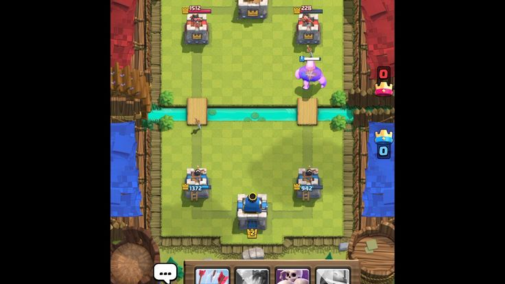 Clash Royale Recording on Mi Pad 3 with Mobizen Android App