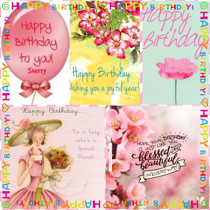 Hey Sisters! It's Sherry's special day!!! Help me wish her a Happy Birthday!  Hugs, love and blessing!