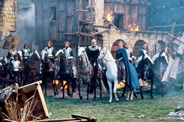 Still of Sean Connery, Richard Gere and Julia Ormond in First Knight