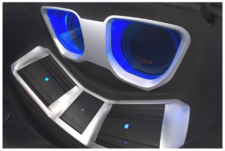 car stereo system car audio installation trunk. Black Bedroom Furniture Sets. Home Design Ideas