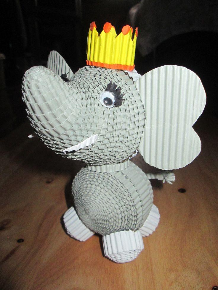 #elephant #kokoru #papercraft #handmade