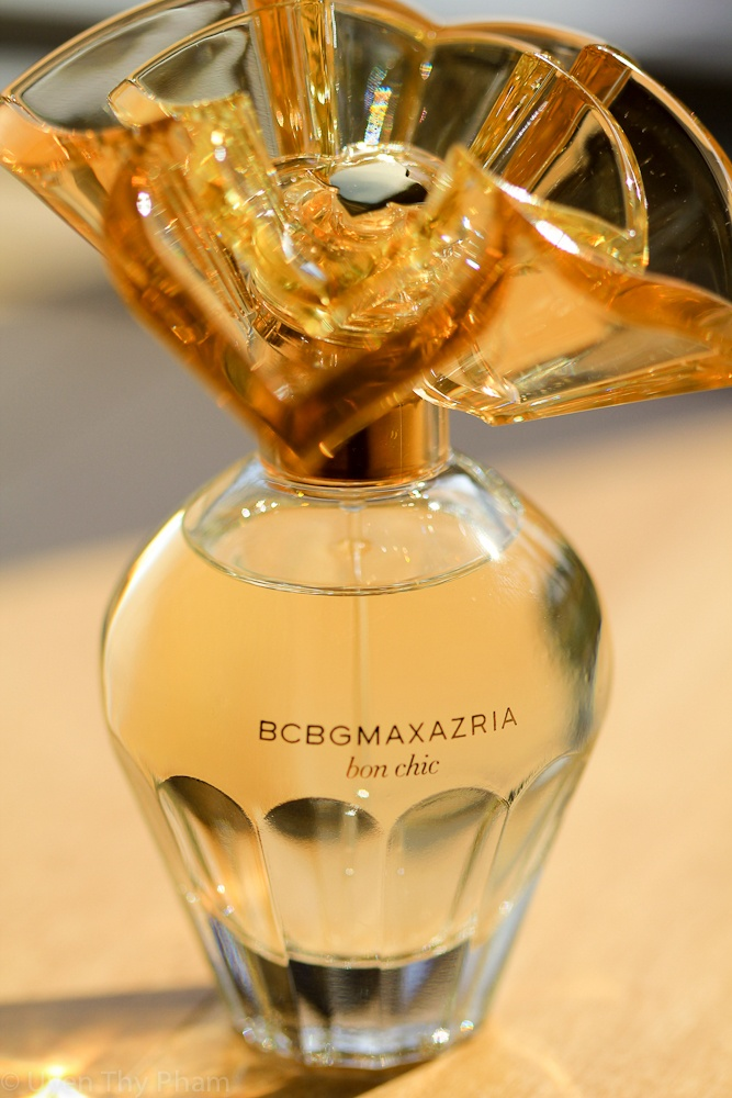 """BCBG """"Bon Chic"""" Perfume...my new fave for the year."""