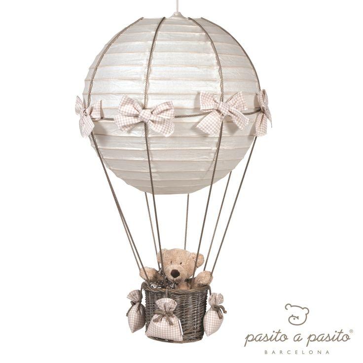 Pasito a Pasito Babyzimmerlampe Heissluft Ballon Vichy beige - im Fantasyroom Shop online bestellen oder im Ladengeschäft in Lörrach kaufen. Besuchen Sie uns!