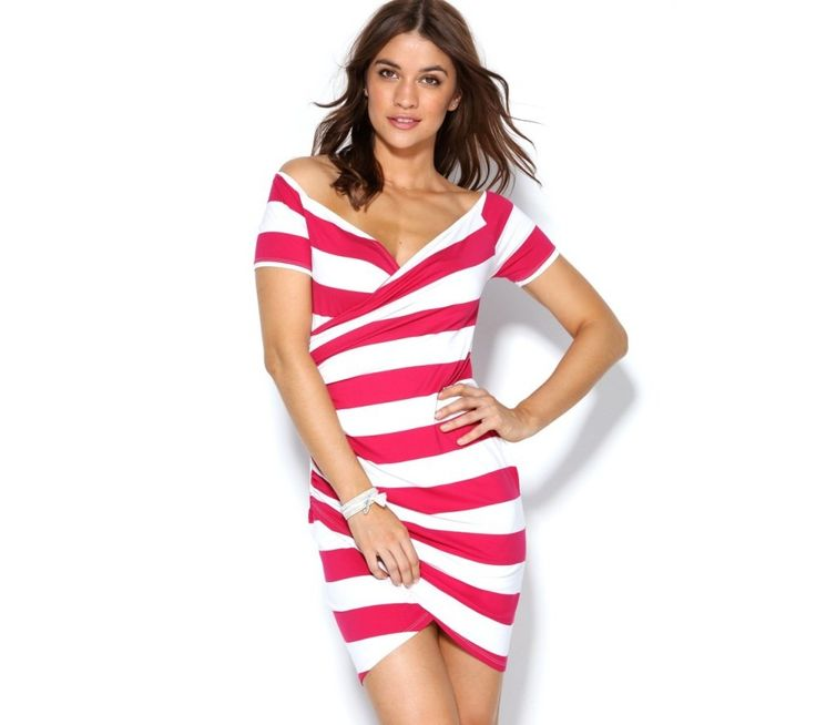 Krátké šaty s proužky | modino.cz #modino_cz #modino_style #style #fashion #summer #dress