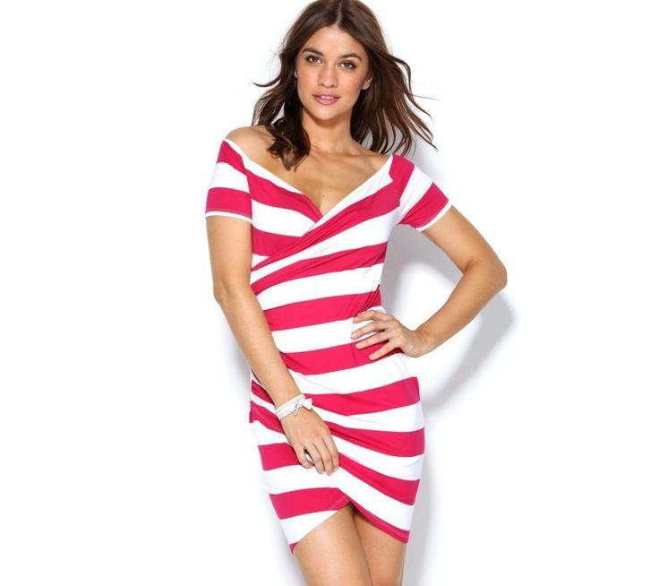Krátke šaty s prúžkami | modino.sk #ModinoSK #modino_sk #modino_style #style #fashion #summer #dress