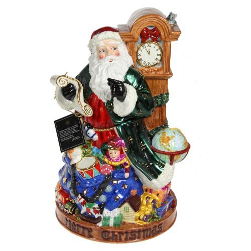 New christopher radko rare time for santa cookie jar