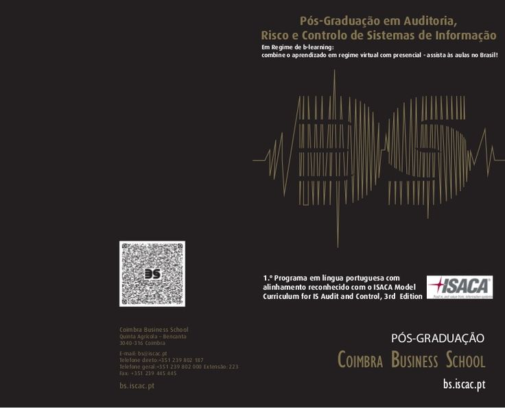 Brochura Pós-Graduação 4ª edição arcsi Edição 2015/16