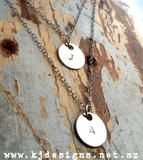 Double the love ... delightfully delicate 2 chains, 2 discs - love it!