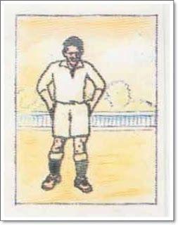Luis Olaso. Real Madrid. 1931-32. Campeón de Liga. Extremo izquierdo.