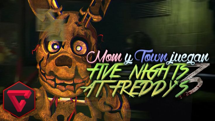 MomGamePlay & iTownGamePlay JUEGAN FIVE NIGHTS AT FREDDY'S 3 | FNAF3