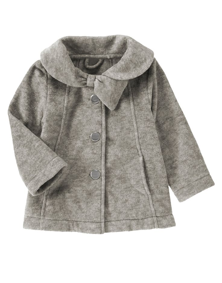 Polar fleece swing coat at gymboree gymboree todler girl for Locker loop dress shirt