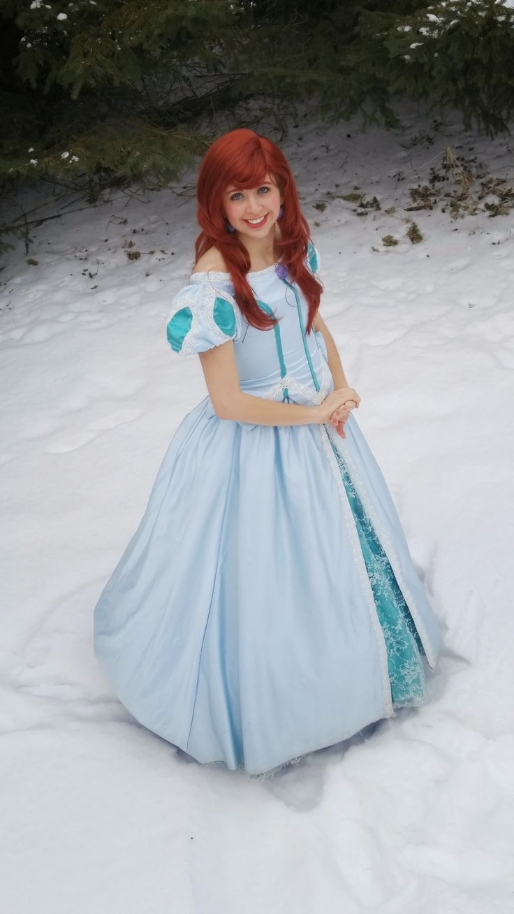 Princess Ariya, the princess of the sea. www.twincitiespartyprincess.com