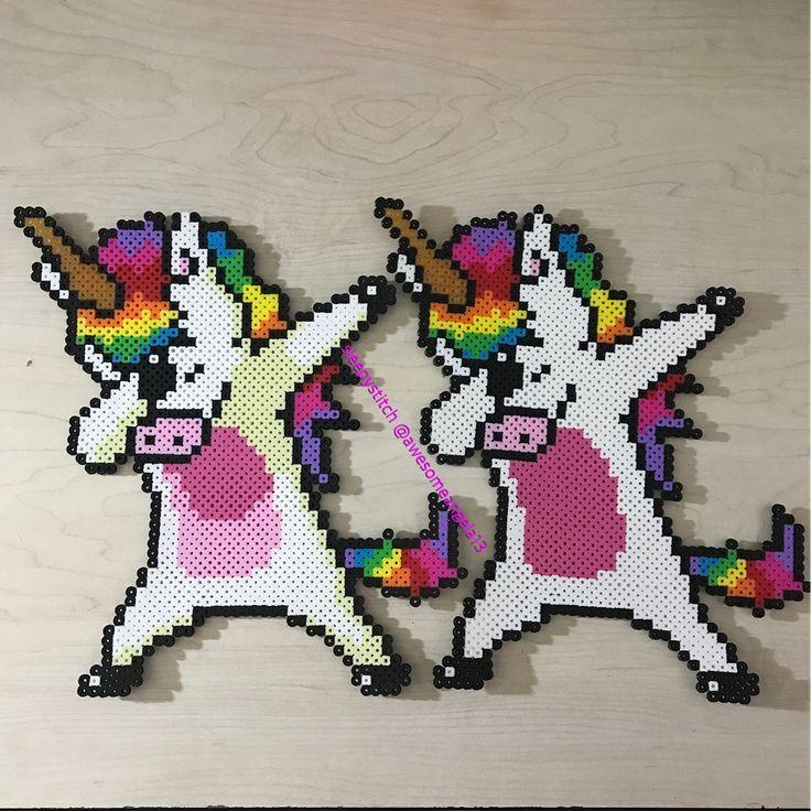 Dabbing unicorns