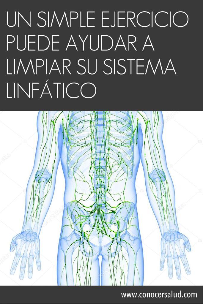 Un simple ejercicio puede ayudar a limpiar su sistema linfático #salud
