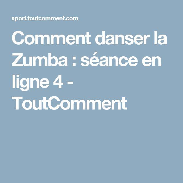 Comment danser la Zumba : séance en ligne 4 - ToutComment