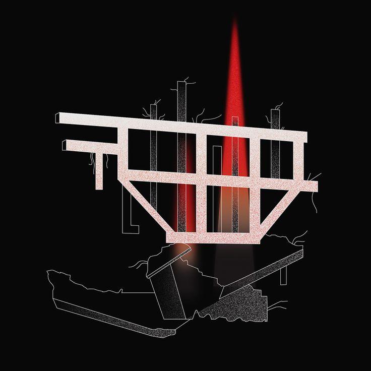 Makljen #momument by Boško Kućanski / www.spomeniky.com/makljen / #balkan #spomenik #brutalist #utopian #concrete #brutalism #architecture #makljen #artwork