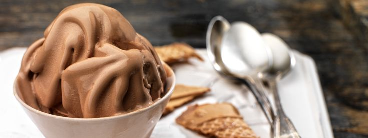 Frozen yogurt με σοκολάτα