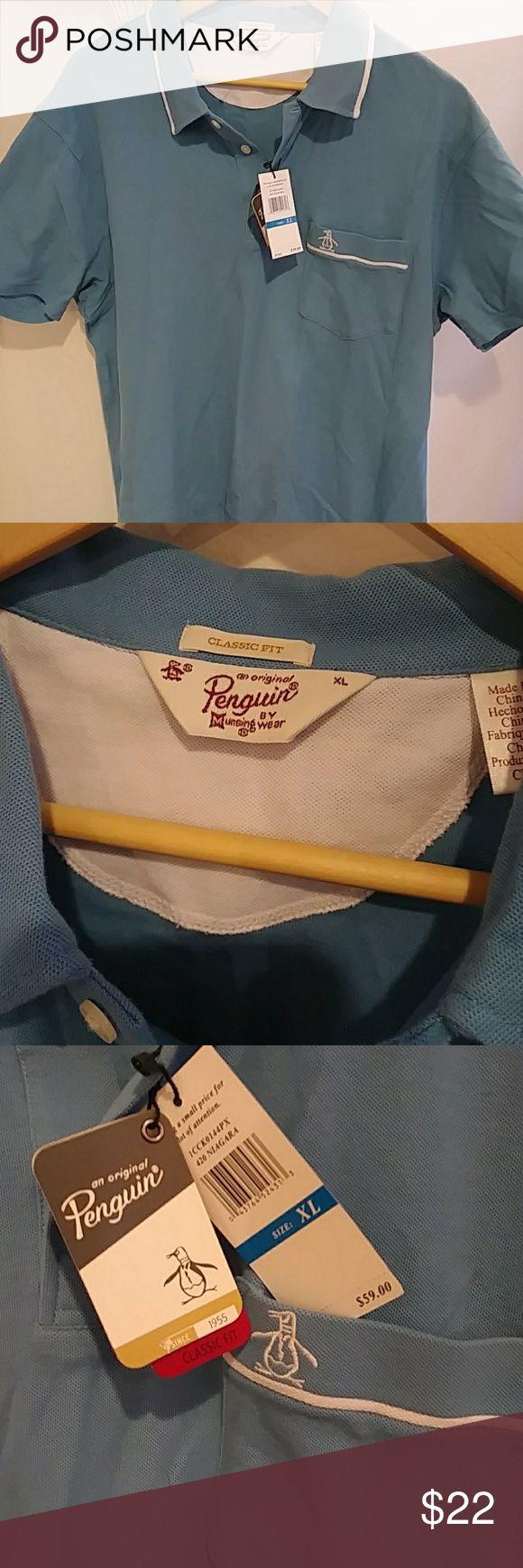 Original Penguin Brand new short sleeve XL Original Penguin Shirts Polos