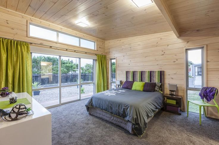 Main bedroom in Takanini show home in Auckland