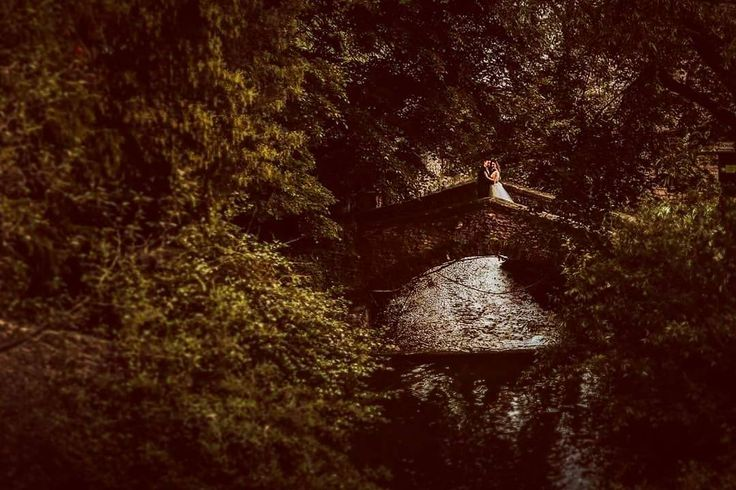 Not all bridges burn  #teoriazambetului #ilovemyjob #trashthedress #TTD #love #summer #garden #balchikpalace #nature #greenery #river #bridge #romantic