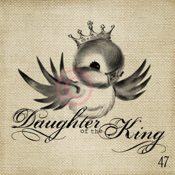 Daughter of the King - Crown Tattoo Ideas