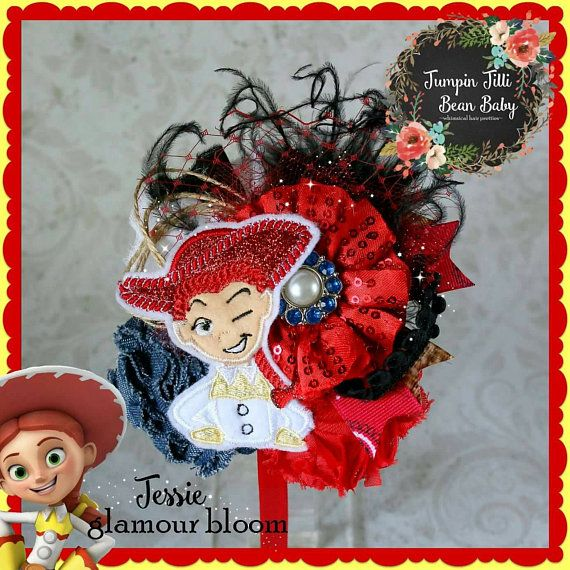 Check out this item in my Etsy shop https://www.etsy.com/listing/509607740/jessie-toy-story-cowgirl-glamour-bloom