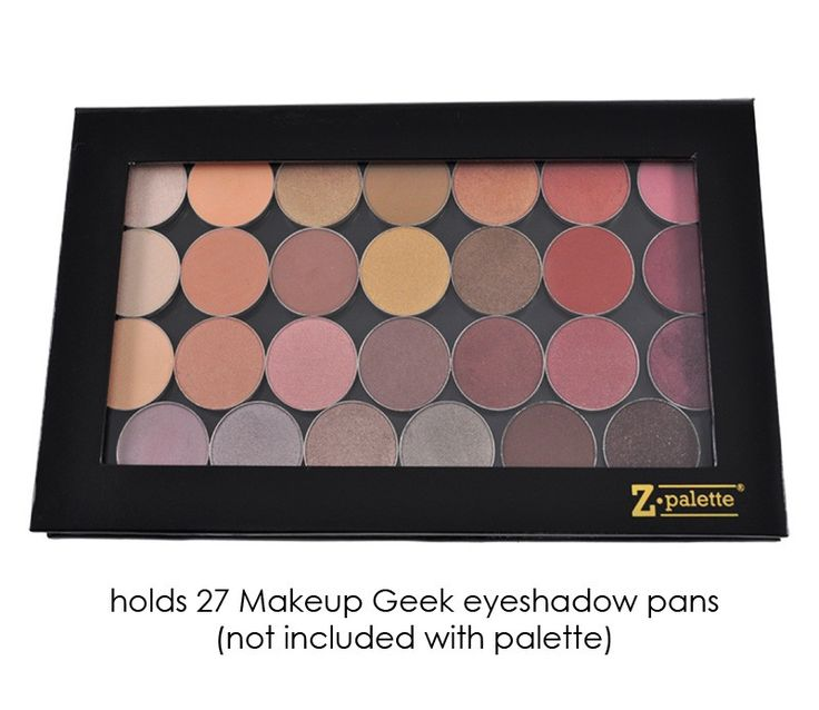 **WILL BUY MYSELF**  Z Palette Large - Black - Comes empty to hold my shadows etc. $20 from Makeupgeek.com and can be combined with other stuff I want from the same website.