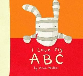I Love My ABC [Board book]123 Boards, Anna Walker, Boards Book, Boardbabi Book, Kids Stuff, 123 Olly, Kids Book, Abc Boards, Boards Baby Book