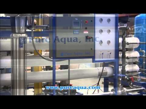 http://www.pure-aqua.com/brackish-water-ro.html : Pura Aguamarina y suministramos salobre sistema de ósmosis inversa de agua de una empresa de tratamiento de agua importante en Yemen. Su producción 130.000 GPD.