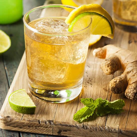 """Making Ginger Beer   Consider making ginger beer, a spicy beverage from """"down under,"""" for a novel way of celebrating the arrival of spring."""