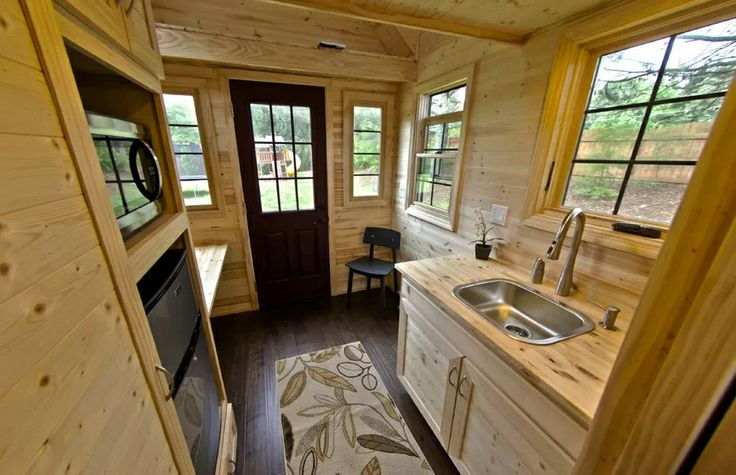 tiny house trailer interior tiny house on a trailer - Tiny House Trailer Interior