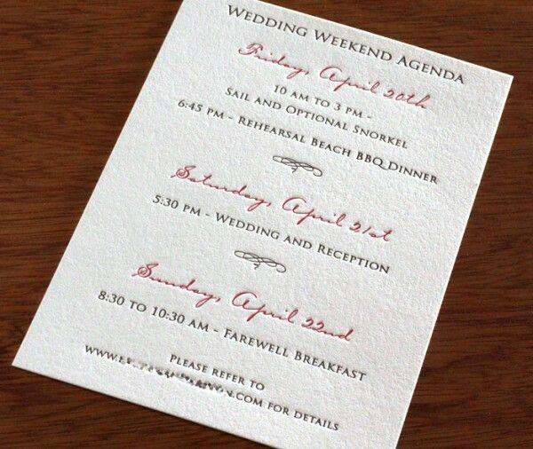 The 25 best Wedding agenda ideas – Wedding Agenda