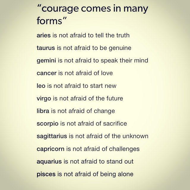 I am not afraid of any of these......except love